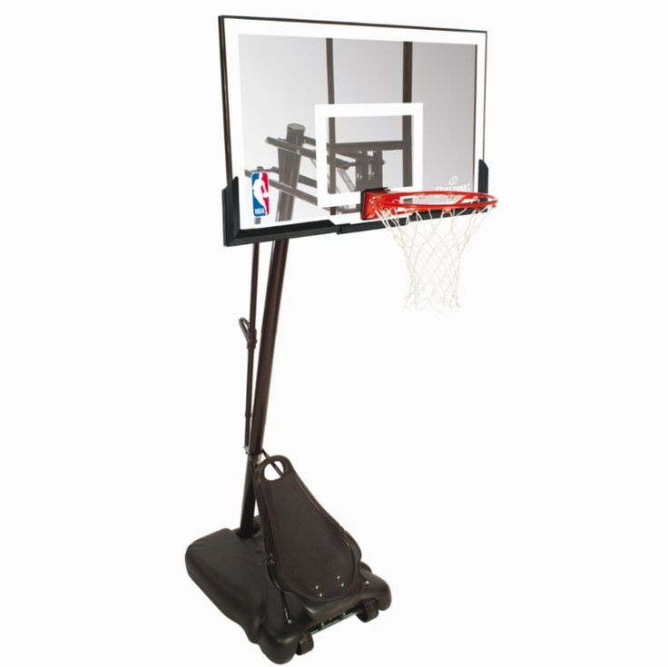 Spalding Gold acrylic basketball system 8ft-10ft