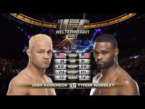 UFC 209 Free Fight: Tyron Woodley vs Josh Koscheck