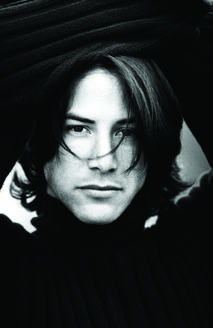 Wonderful. One of the few guys who still looks good with longer hair...great hair! Keanu Reeves