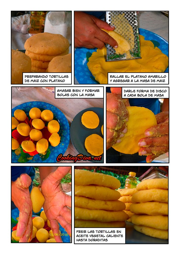 Cocina tradicional Panama: Tortillas de Maiz y Platano   Flickr - Photo Sharing!