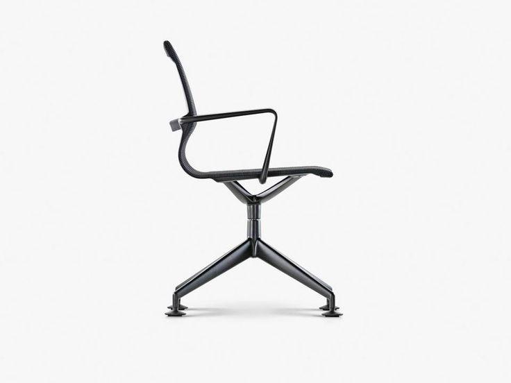 la exitosa y ultracmoda silla operativa physix de alberto meda para vitra se presenta en su nueva versin con base de patas en estrella