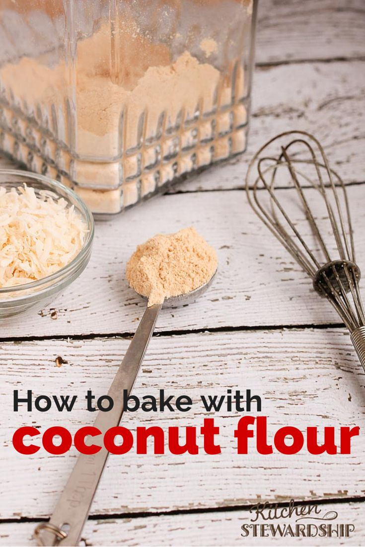 How to use coconut flour in baking (and what NOT to do!) Grain free baking with coconut oil is nothing like regular baking.