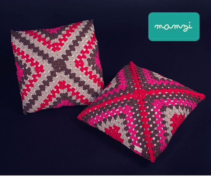 crochet cushions 100% cotton available at http://mamzi.bigcartel.com/