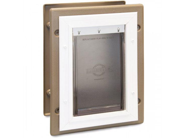 Wall Entry Aluminum Pet Door™ by PetSafe - GRP-WALL