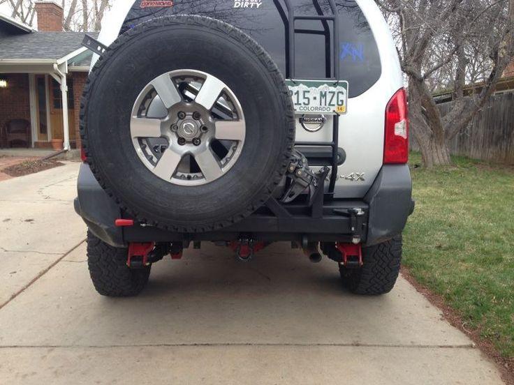 Boulder Ironworx Rear Bumper Nissan Xterra Pinterest
