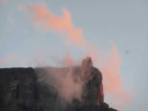 Table Mountain Sunset Clouds