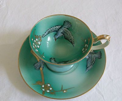 Shofu China Tea Cup and Saucer Made in Occupied Japan
