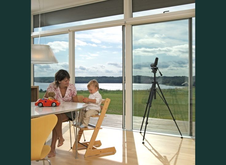 The view is looking amazing through these VELFAC-200 windows.
