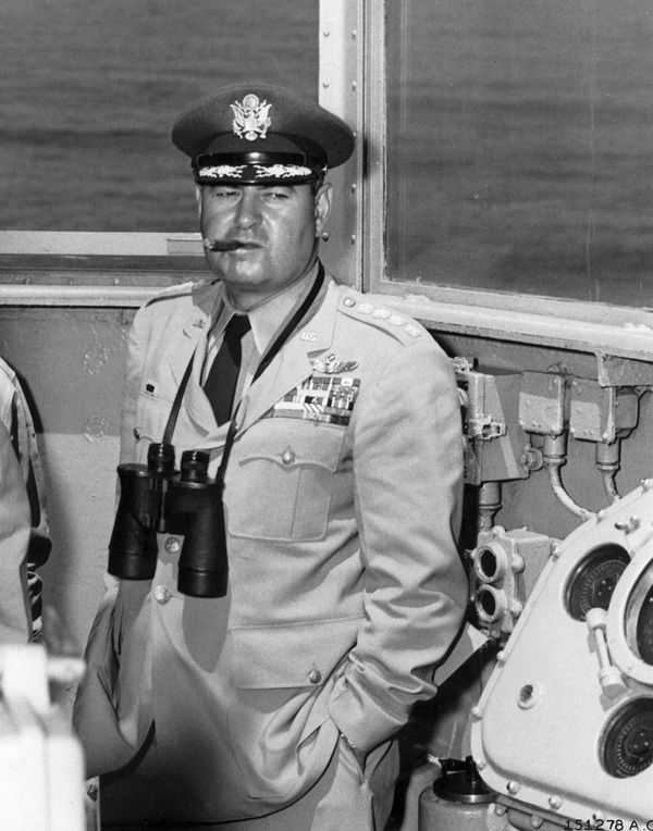 General Curtis LeMay - SAC's second commander-in-chief (1948-1957), LeMay played a crucial role in developing the capabilities of his command so that it could launch an atomic offensive at short notice. LeMay had shown his organizational and command abilities during World War II, when he directed mass bombing operations against Japanese cities, including the fire bombing of Tokyo in March 1945.