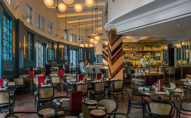A Former Bank in Singapore Has Been Transformed Into 'The Black Swan' Restaurant