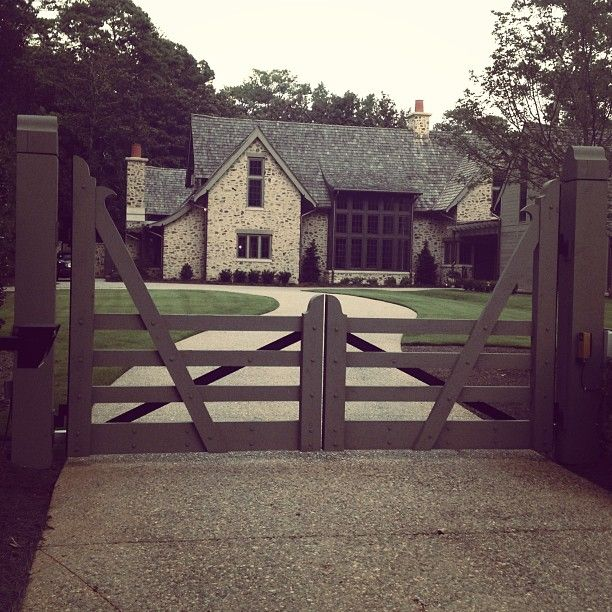Great Gate Design At A House Designed By McAlpine Tankersley In Atlanta.