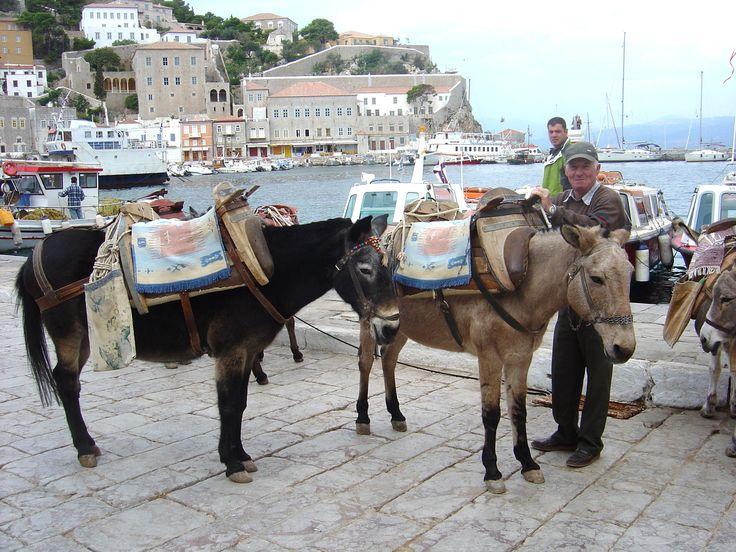 Hydra Island transport, Greece