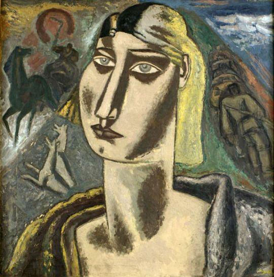Leo Gestel (Dutch 1881-1941), Petrushka, 1931. Oil on canvas.