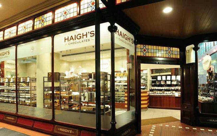 Haighs Chocolate shop Sydney