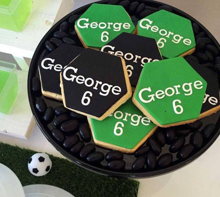Soccer Dessert Table - Kids Soccer Party