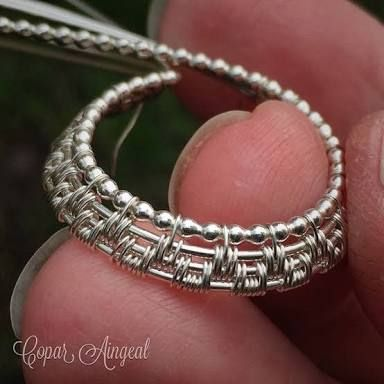 Image result for wire weaving jewelry