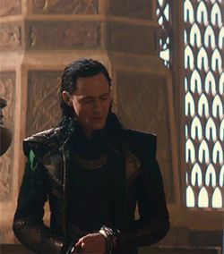 """And how is that a good idea?"" Don't you sass me Loki!"