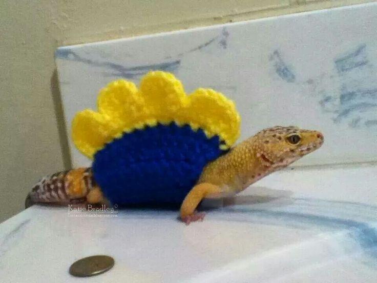 Stegosaurus gecko @daydream713 @claudiabusse