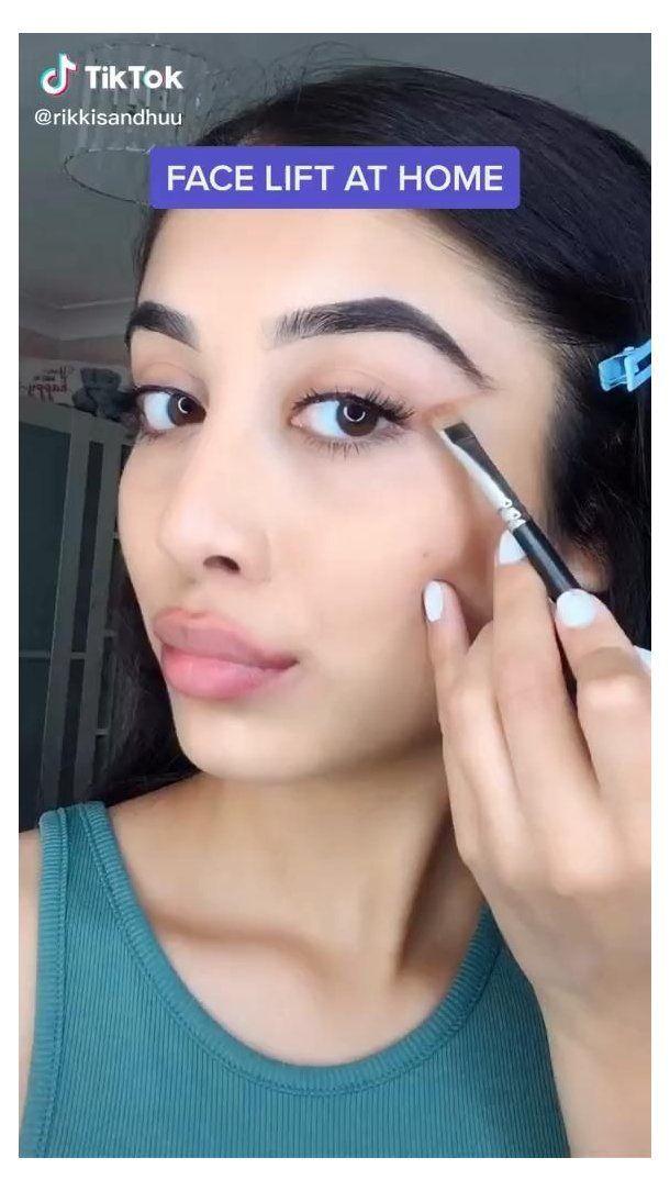 Simple Face Lift Tutorial Makeup Face Tutorial Videos Follow Our Board For More Makeuptutorial Makeu Eye Makeup Tutorial Natural Makeup Eye Makeup