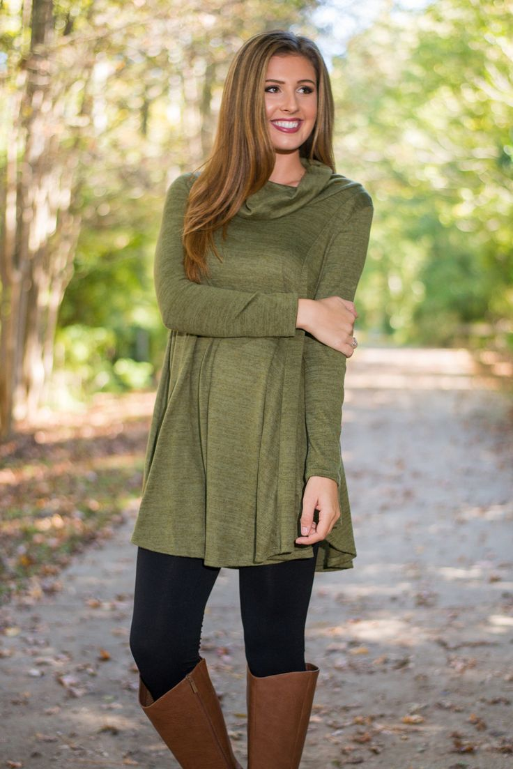 Lush Hour Traffic tunic Olive Love love love this!