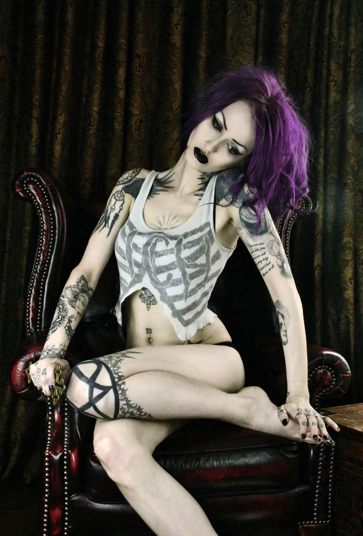 Goth girls tattoo