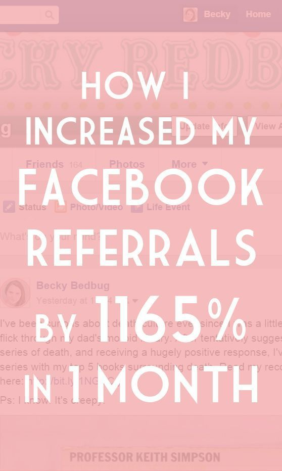 How to increase your Facebook referrals