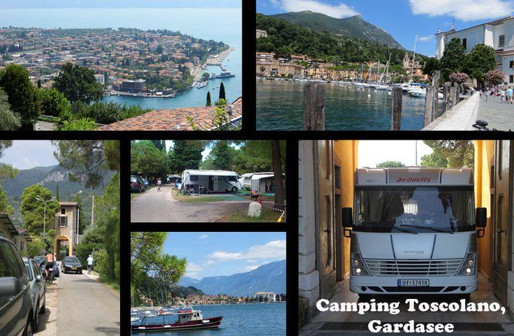 Camping Toscolano, Gardesee, Italy