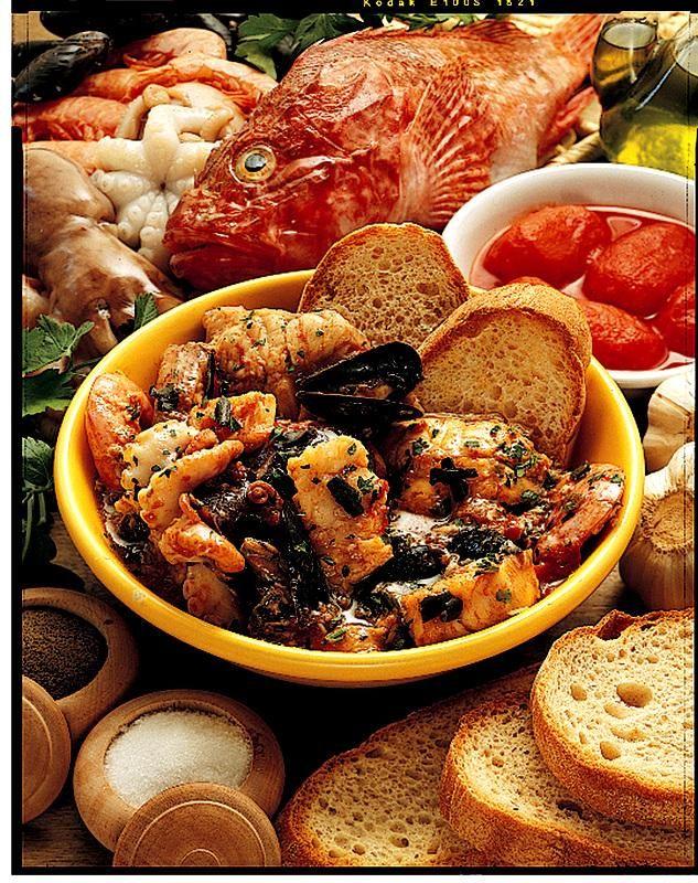 Zuppa di Pesce alla Crotoniate. #Calabria