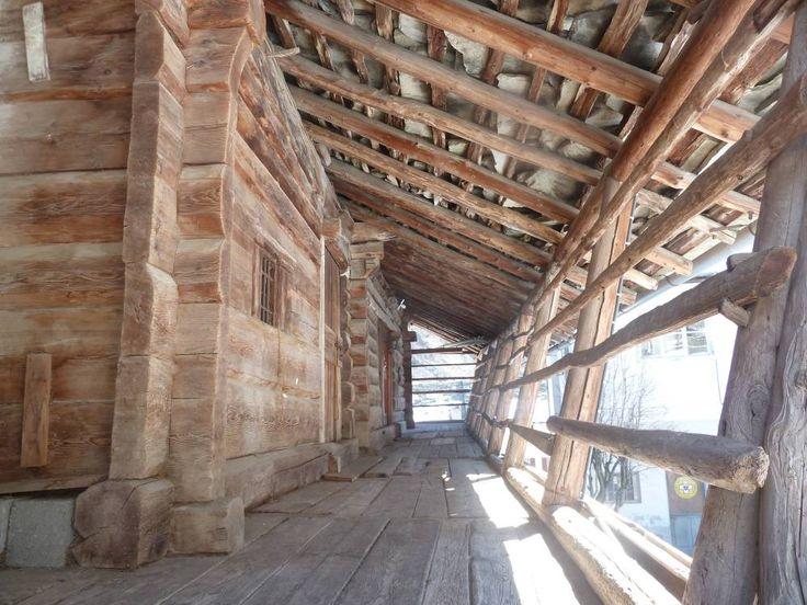 case walser - la tipica lobbia