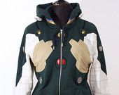 OTAKool: get your nerdy look! MARI MAKINAMI green suit inspired hoodie