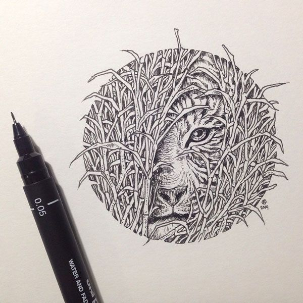 De superbes illustrations à la main par Kerby Rosanes