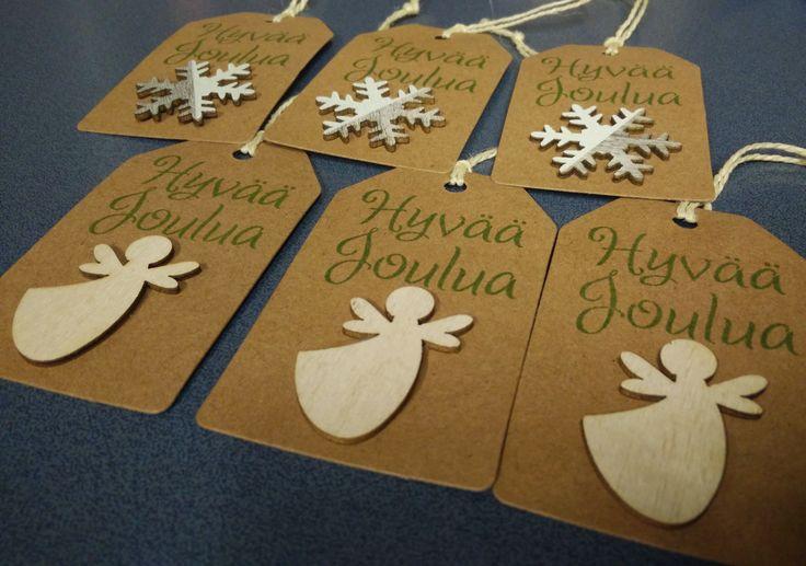 Joulu pakettikortteja