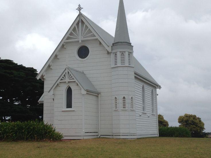 The beautiful Trenavin Chapel on Phillip Island.