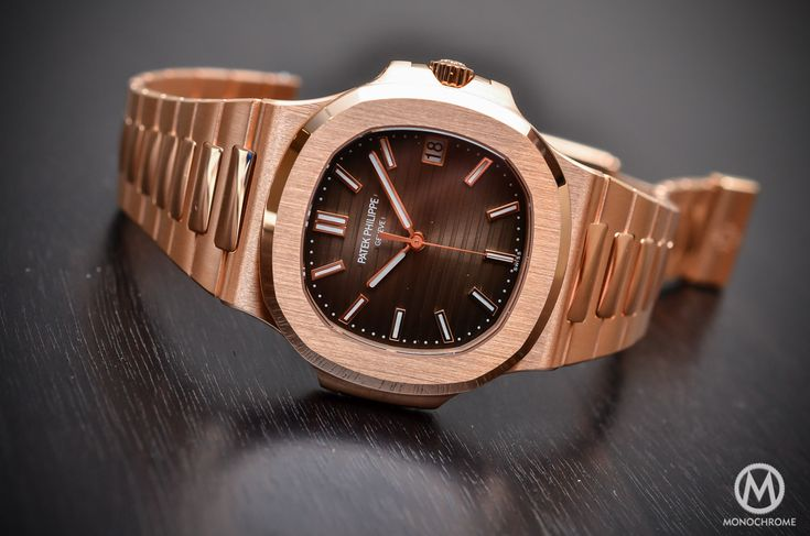 Patek-Philippe-Nautilus-57111R-001-Rose-Gold-chocolate-Christmas Buying Guide - Our Top 5 Dive : Sports watches of 2015