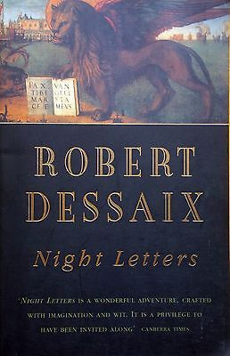 SIGNED COPY Night Letters by Robert Dessaix FREE AUST POST used paperback 1997