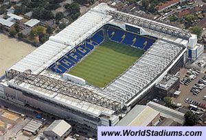White Hart Lane Stadium in London