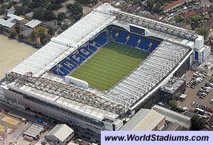 White Hart Lane Stadium in London