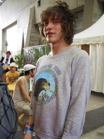 Andrew VanWyngarden, my dreamy hippie boy