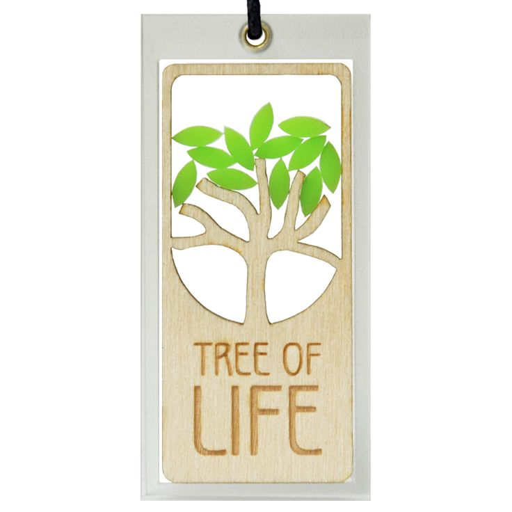 Tree of life, laser cut Hanging Charm by Spaceform. Handmade in our London studio.