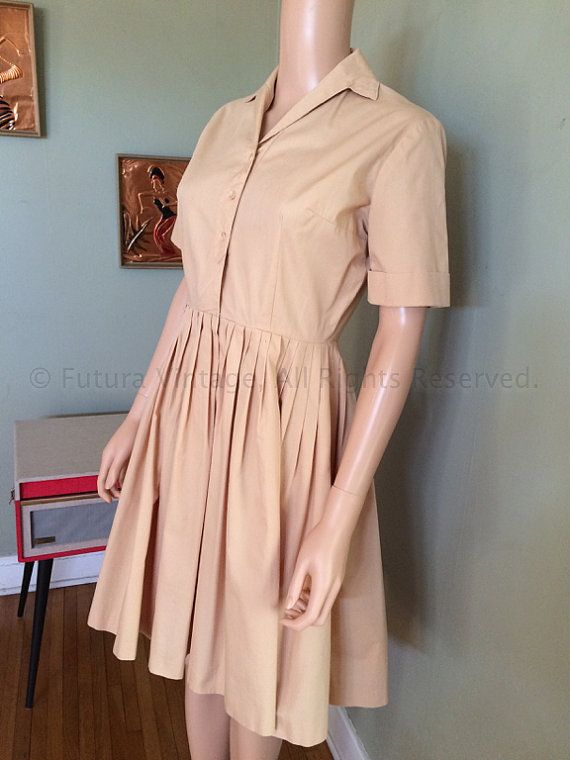 1950s 1960s Smart FRITZI of California Beige by FuturaVintage