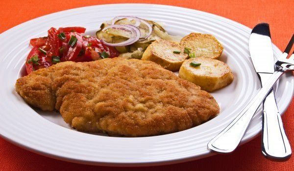 Шницели с кайма и картофи - Рецепта | Gotvach.bg