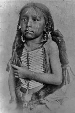 Northern Cheyenne boy - no date