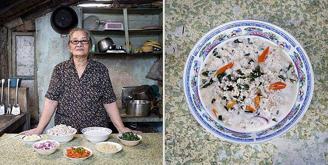 Φωτο-ταξίδι γεύσεων σε όλο τον κόσμο με σεφ... γιαγιάδες!  Φιλιππίνες, Kinunot (καρχαρίας σε σούπα καρύδας)