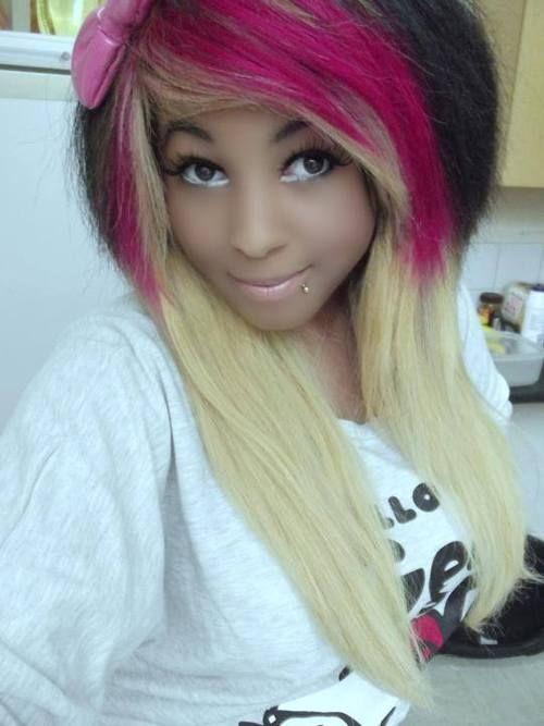 African american scene girl