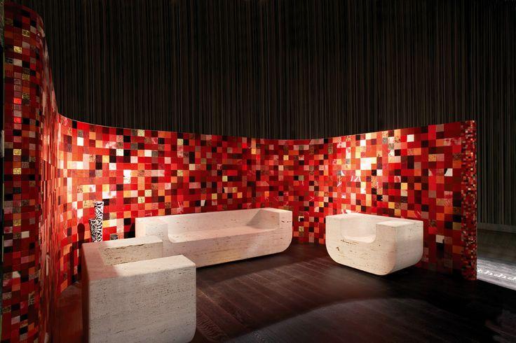 Leatherwall mosaic by Studioart Design!