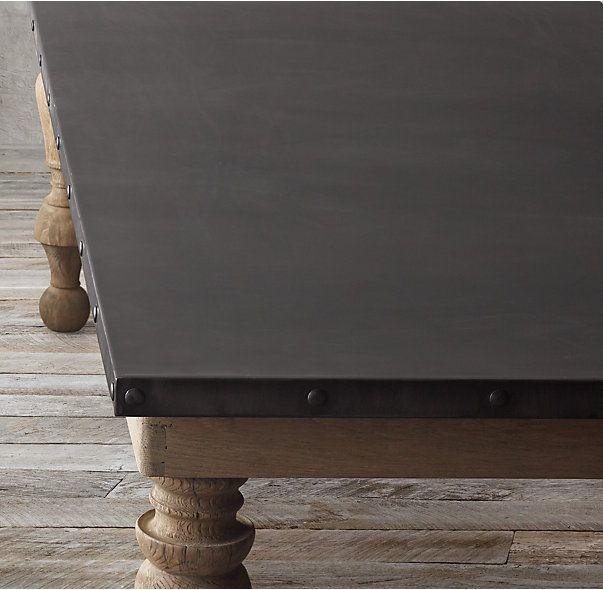 19th C Oak amp Zinc Baluster Rectangular Dining Table  : 72e67667d4c6bcf931b01c6551104b93 living comedor dining products from www.pinterest.com size 603 x 590 jpeg 45kB