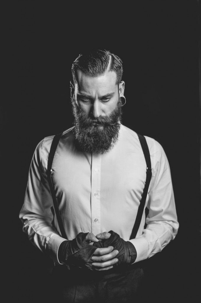 barbe hipster homme bretelles old style vintage barbes beards pinterest vintage. Black Bedroom Furniture Sets. Home Design Ideas