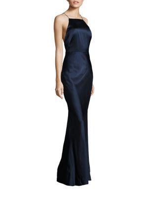 JASON WU Sleeveless Satin Gown. #jasonwu #cloth #gown