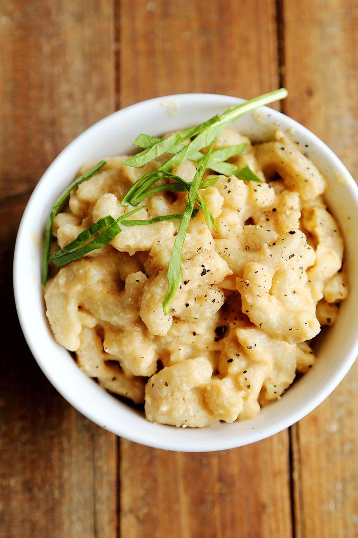 (via Vegan Mac and Cheese with Creamy Cauliflower Sauce - Divine Healthy Food)