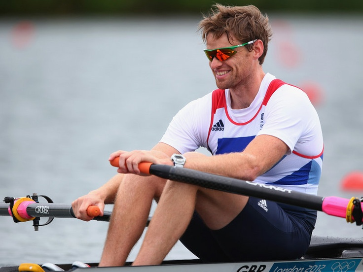 Britain's Allen Campbell was knocked out at the semi-final stage in the Men's Single Sculls